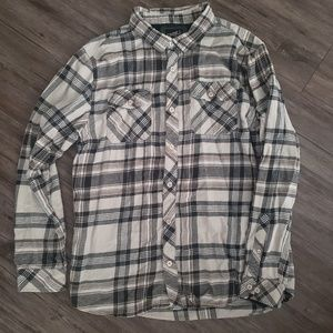 O'Neill Casual Button Up Collared Flannel XL